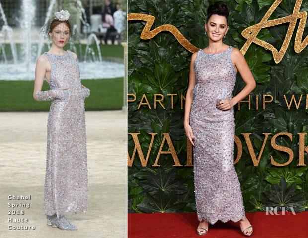 Fashion Blogger Catherine Kallon feature Penelope Cruz In Chanel Haute Couture - The Fashion Awards 2018