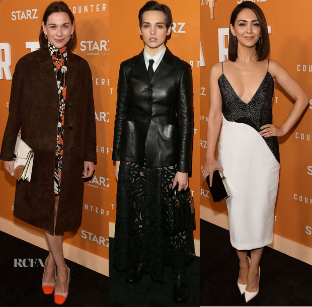 Fashion Blogger Catherine Kallon feature thePremiere Of Starz's 'Counterpart' Season 2