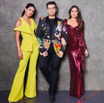 Priyanka Chopra In Safiyaa & Kareena Kapoor In Monisha Jaising - 'Koffee with Karan'