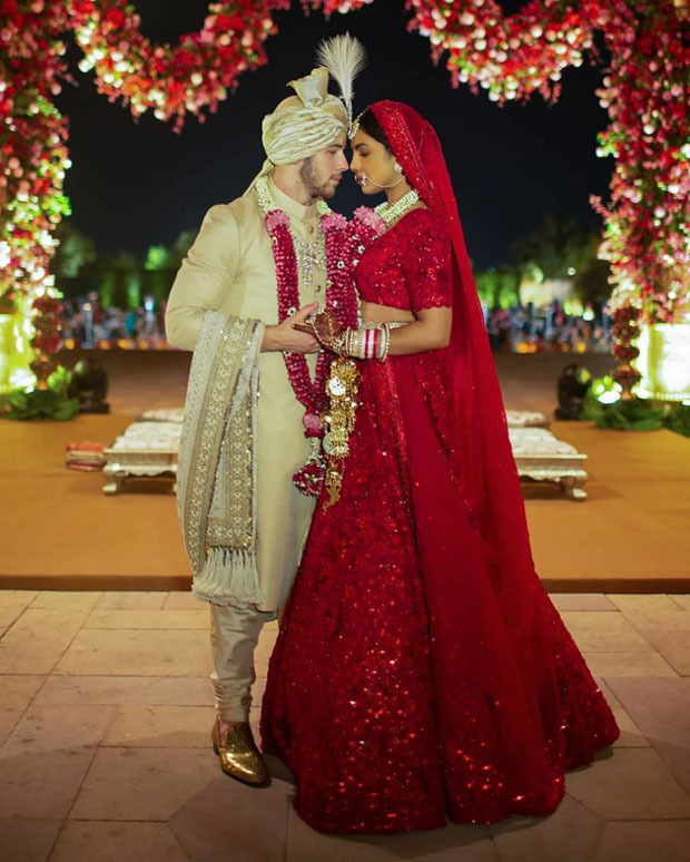 Fashion Blogger Catherine Kallon feature the Priyanka Chopra Weds Nick Jonas In Sabyasachi