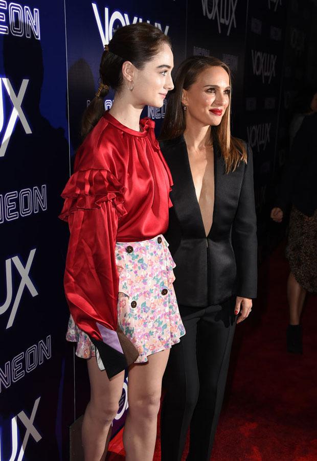 Fashion Blogger Catherine Kallon feature the Raffey Cassidy In Louis Vuitton - 'Vox Lux' LA Premiere