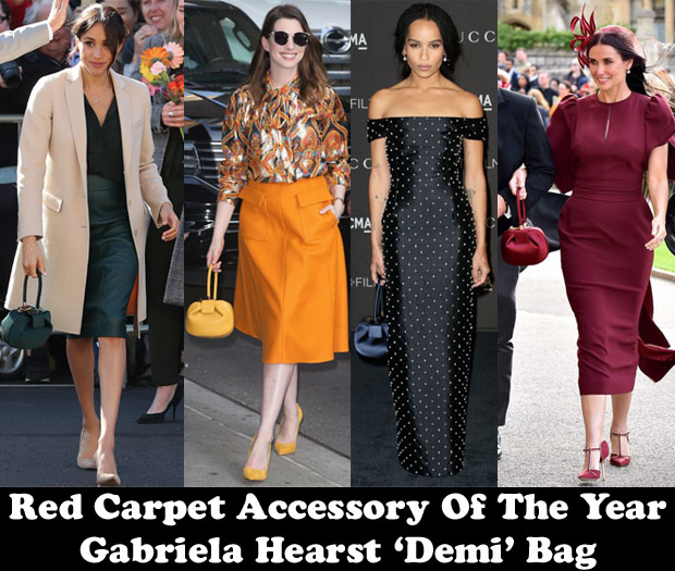 Fashion Blogger Catherine Kallon Features Red Carpet Accessory Of The Year - Gabriela Hearst 'Demi' Bag