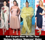 Fashion Blogger Catherine Kallon Red Carpet Shoe Of The Year - Malone Souliers 'Maureen' Mules