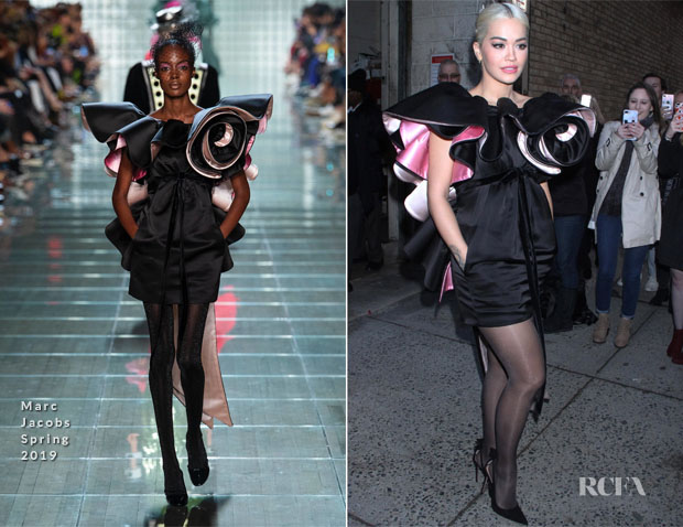 Fashion Blogger Catherine Kallon Features Rita Ora In Marc Jacobs - Live with Kelly & Ryan