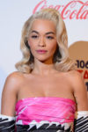 Fashion Blogger Catherine Kallon feature Rita Ora In Moschino - Capital FM Jingle Bell Ball