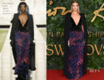 Fashion Blogger Catherine Kallon feature Rosie Huntington Whiteley In Givenchy Haute Couture - The Fashion Awards 2018