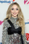 Fashion Blogger Catherine Kallon feature the Sabrina Carpenter In Moschino - Z100's Jingle Ball 2018
