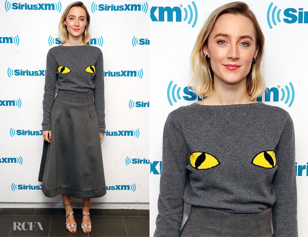 Fashion Blogger Catherine Kallon Features Saoirse Ronan In Malin Dalin - SiriusXM
