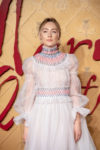 Fashion Blogger Catherine Kallon feature Saorise Ronan In Carolina Herrera - 'Mary Queen Of Scots' London Premiere