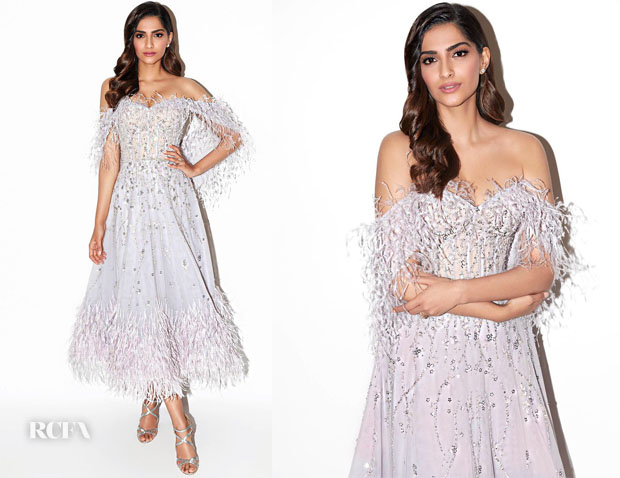 Fashion Blogger Catherine Kallon features Sonam Kapoor In Rami Kadi - 'Koffee with Karan'