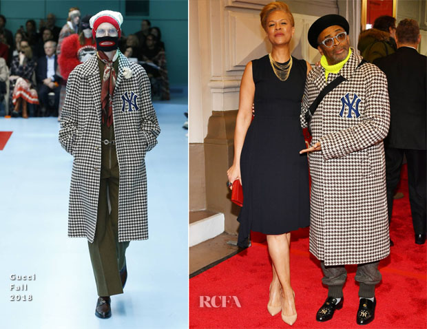 Fashion Blogger Catherine Kallon feature Spike Lee In Gucci - 'To Kill A Mocking Bird' Opening Night