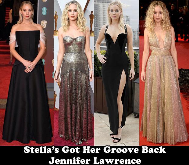 Stella's Got Her Groove Back – Jennifer Lawrence