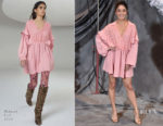 Fashion Blogger Catherine Kallon feature the Vanessa Hudgens In Giamba - 'Second Act' LA Photocall