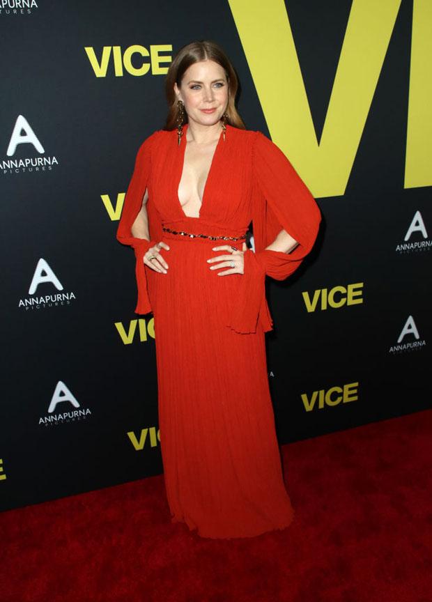 Fashion Blogger Catherine Kallon feature the 'Vice' World Premiere