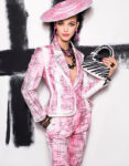 Fashion Blogger Catherine Kallon features Vittoria Ceretti fronts Moschino spring-summer 2019 campaign