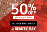 Get Up to 50% off at BEAUTY BAY