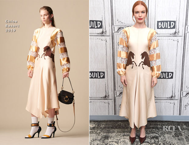 Fashion Blogger Catherine Kallon feature the Kate Bosworth in Chloe - Build Series Nona