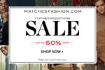 Get Up To 50% Off In The MATCHESFASHION.COM Sale