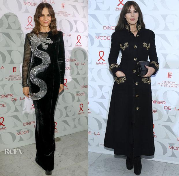 Fashion Blogger Catherine Kallon features 17th 'Diner De La Mode' To Benefit Sidaction
