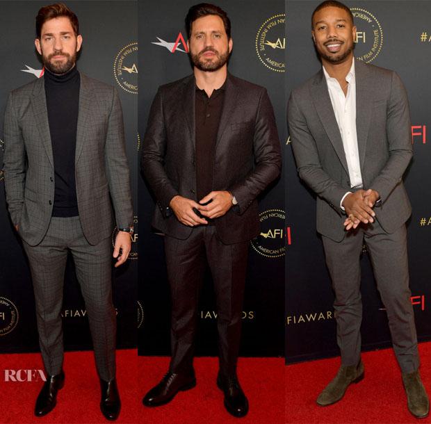 2019 AFI Awards Menswear Red Carpet Roundup 3