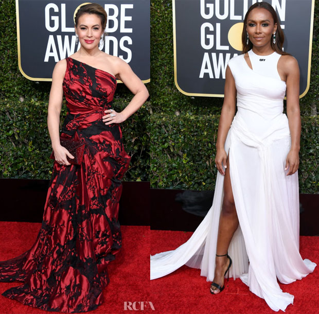 Fashion Blogger Catherine Kallon features 2019 Golden Globe Awards