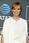 Fashion Blogger Catherine Kallon features Allison Janney In Alberta Ferretti Limited Edition - 2019 Critics' Choice Awards