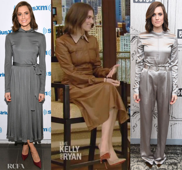 Fashion Blogger Catherine Kallon features Allison Williams Layers Up To Promote 'A Series Of Unfortunate Events'