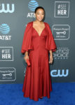 Fashion Blogger Catherine Kallon features Amandla Stenberg In Khaite - 2019 Critics' Choice Awards