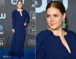 Fashion Blogger Catherine Kallon features Amy Adams In Zac Posen - 2019 Critics' Choice Awards