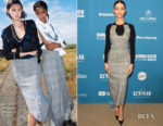 Fashion Blogger Catherine Kallon features Angela Sarafyan In Roland Mouret - 'Extremely Wicked, Shockingly Evil And Vile' Sundance Film Festival Premiere