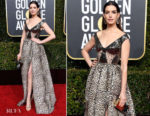 Fashion Blogger Catherine Kallon features Anne Hathaway In Elie Saab - 2019 Golden Globe Awards