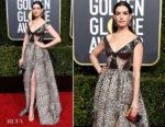 Fashion Blogger Catherine Kallon features Anne Hathaway In Elie Saab - 2019 Golden Globe Awards