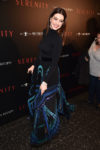 Fashion Blogger Catherine Kallon features Anne Hathaway In Givenchy Haute Couture - 'Serenity' New York Screening
