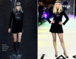 Fashion Blogger Catherine Kallon features Anya Taylor-Joy In Saint Laurent - 'Glass' London Premiere
