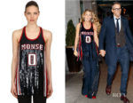Blake Lively's Monse Sequined Silk Tank Top