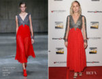 Fashion Blogger Catherine Kallon features Brie Larson In Christopher Kane - 2nd Annual Online Film Critics Society Awards
