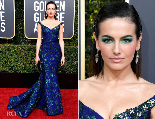 Fashion Blogger Catherine Kallon features Camilla Bell In Jason Wu - 2019 Golden Globe Awards