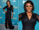 Fashion Blogger Catherine Kallon features Caroline Chikezie In Jovani - FOX's 'The Passage' Premiere Party
