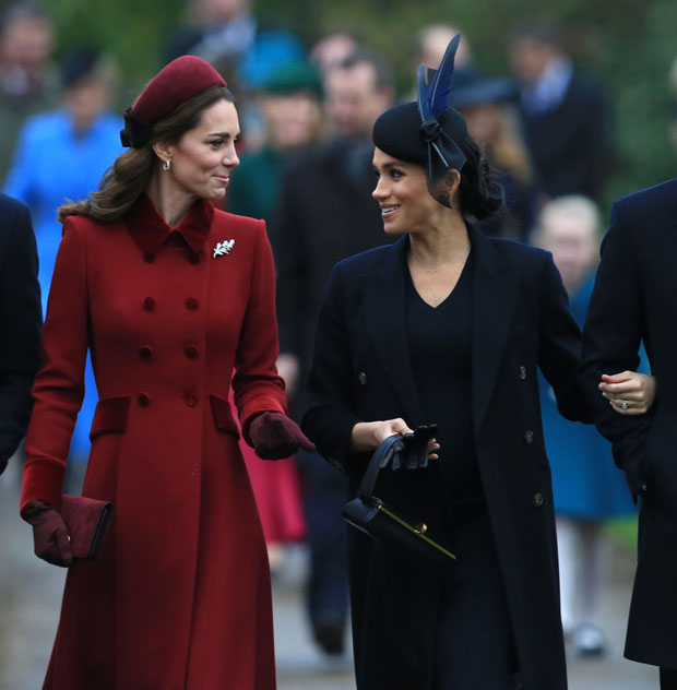 Fashion Blogger Catherine Kallon features Catherine, Duchess of Cambridge & Meghan, Duchess of Sussex - Christmas Day Church Service
