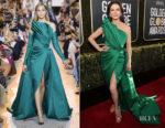 Fashion Blogger Catherine Kallon features Catherine Zeta-Jones In Elie Saab Haute Couture - 2019 Golden Globe Awards