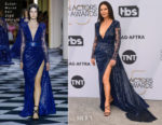 Fashion Blogger Catherine Kallon features Catherine Zeta-Jones In Zuhair Murad Couture - 2019 SAG Awards