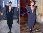 Fashion Blogger Catherine Kallon features Celine Dion In Alexandre Vauthier Haute Couture - Out In Paris