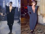 Fashion Blogger Catherine Kallon features Celine Dion In Alexandre Vauthier Haute Couture - Out In Paris