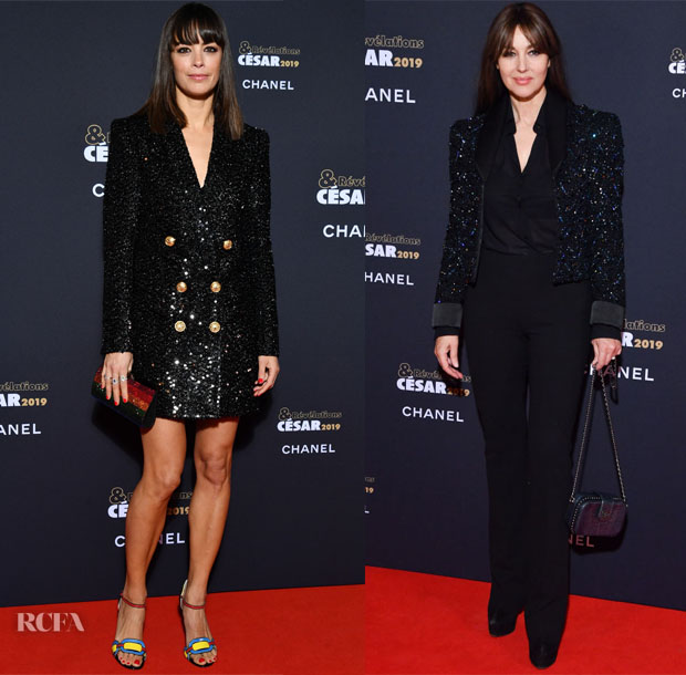 Fashion Blogger Catherine Kallon features César Revelations 2019 with Berenice Bejo, Monica Bellucci, Diane Rouxel, Lily-Rose Depp