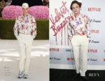 Fashion Blogger Catherine Kallon features Charlie Heaton In Dior Men - 'Velvet Buzzsaw' Sundance Film Festival Premiere