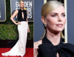 Fashion Blogger Catherine Kallon features Charlize Theron In Christian Dior Haute Couture - 2019 Golden Globe Awards