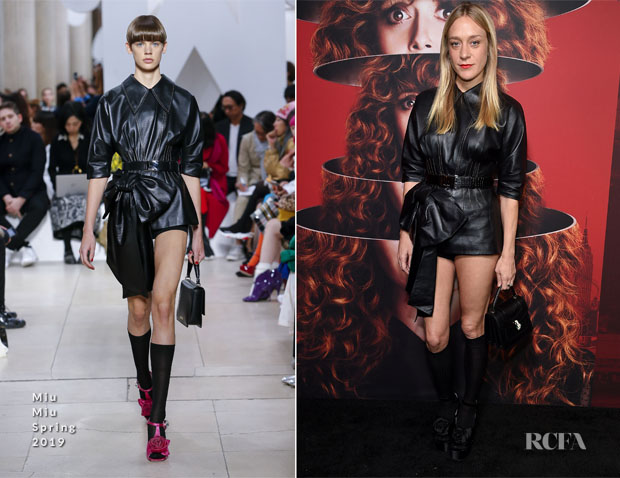 Fashion Blogger Catherine Kallon features Chloë Sevigny In Miu Miu - 'Russian Doll' New York Premiere