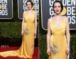 Fashion Blogger Catherine Kallon features Claire Foy In Miu Miu - 2019 Golden Globe Awards