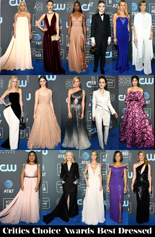 Who Was Your Best Dressed At The 2019 Critics' Choice Awards?