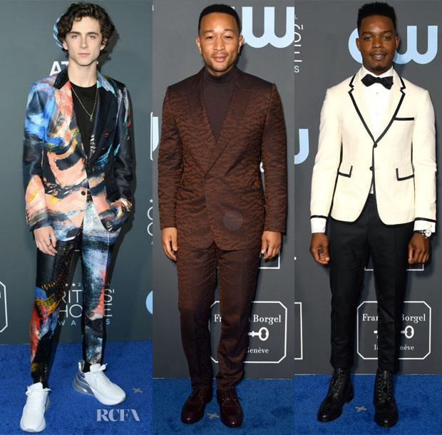 2019 Critics' Choice Awards Menswear